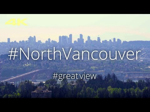 Great view from Lynn Valley, North Vancouver, BC
