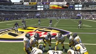 Thanksgiving Day Madden 25 (PS4): Steelers vs Ravens - 2nd Half