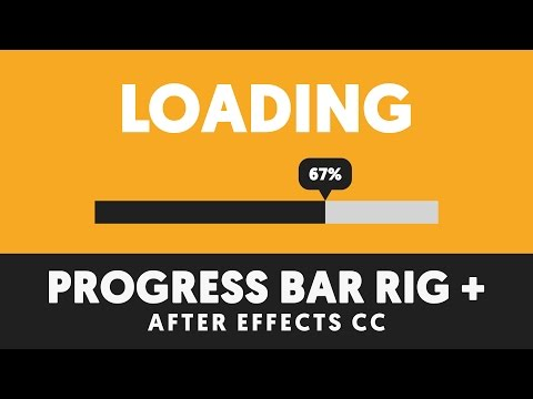 Progress Bar Tutorial w/ Percent Sign - T049