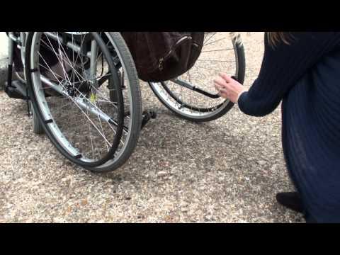 Paraplegic fall and transfer 9