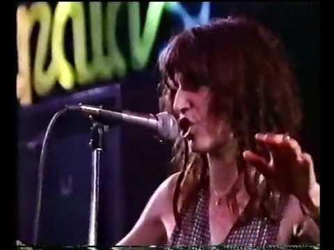 Patti Smith  Gloria  @ Rockpalast 1979