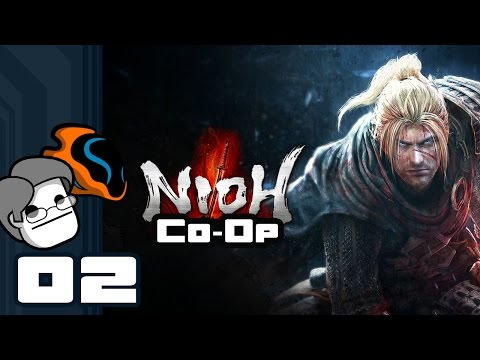 Let's Play Nioh Coop - PS4 Gameplay Part 2 - Stay On Your Toes