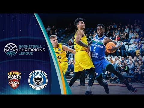 Telenet Giants Antwerp v Anwil Wloclawek - Highlights - Basketball Champions League 2019-20