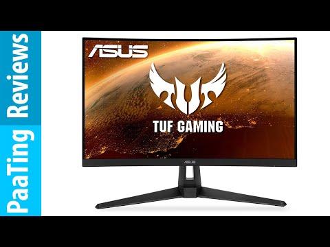 "ASUS TUF Gaming VG27WQ1B 27"" Curved Monitor (Review)"
