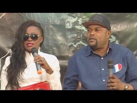 Ursule Peshanga et Devos Mussoba dans l'Emission Echo de Chantal Manitou