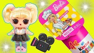 LOL Surprise  Barbie  Możesz być kim chcesz  Kinder Niespodzianka