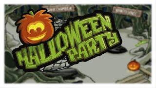 Club Penguin Rewritten: Halloween Party