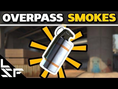 MUST KNOW OVERPASS SMOKES - CS:GO Smoke Tutorial