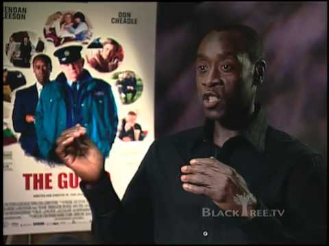 Don Cheadle talks about being a 'fish out of water' in The Guard