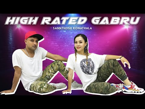 High Rated Gabru | Guru Randhawa, Raghav Juyal, Punit Pathak, Dharmesh Yelande | SK Choreography