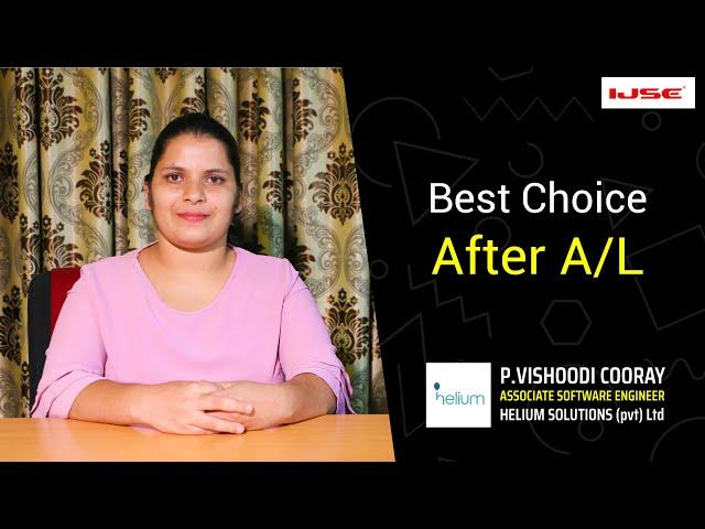 The best institute for software engineering.  Vishoodi said....