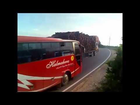 Gaya Ngeblong Bus Sumatra Lintas Sumatra VS  Bus Jawa Lintas Pantura