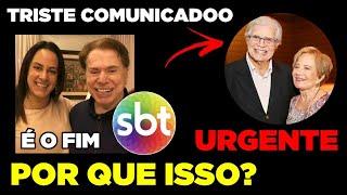 TRISTE NOTICIA DA FILHA DE SILVIO SANTOS ACABA DE CHEGAR... | GLÓRIA MENEZES E TARCÍSIO MEIRA...