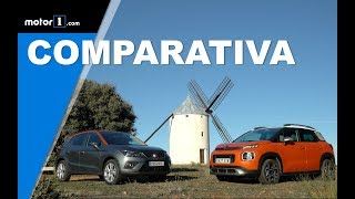 Comparativa Citroën C3 Aircross y SEAT Arona | Prueba / Review en español / Test |