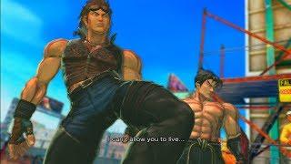 Street Fighter X Tekken Playthrough - Hwoarang and Jin (Team Flexin!)