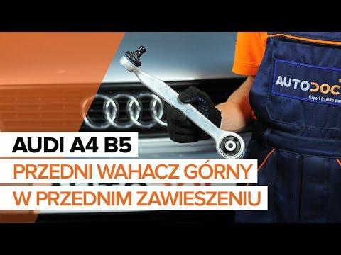 Jak Wymienić Wahacz Przednw Przednim Zawieszeniu W AUDI A4 B5 TUTORIAL   AUTODOC