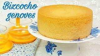 Bizcocho genovés | receta clásica | Mi tarta preferida thumbnail