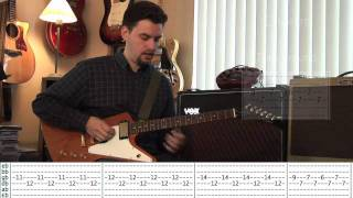 Mr. Brightside The Killers - Guitar Tutorial (Part 1)