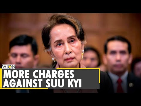 Myanmar: Aung San Suu Kyi faces new charge under official secrets law | Military Coup | WION News