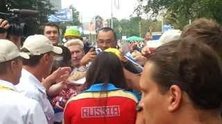 Yelena Isinbaeva Moscow 2013 IAAF World Championship