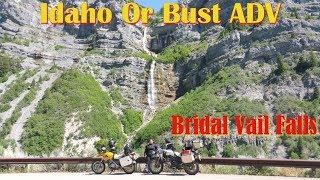 Idaho Or Bust ADV - Bridal Vail Falls