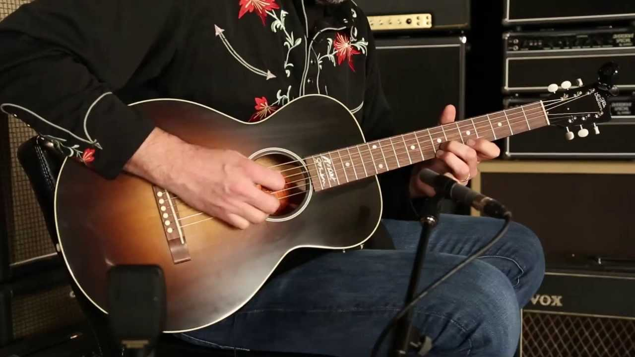 450501752ff Gibson Montana Robert Johnson L-1 • SN: 12292001 - YouTube