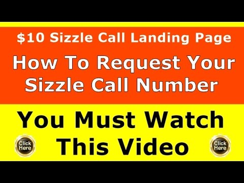 $10 Sizzle Call Marketing System I Do The Selling Training Video | Big Ticket Program Leads Review