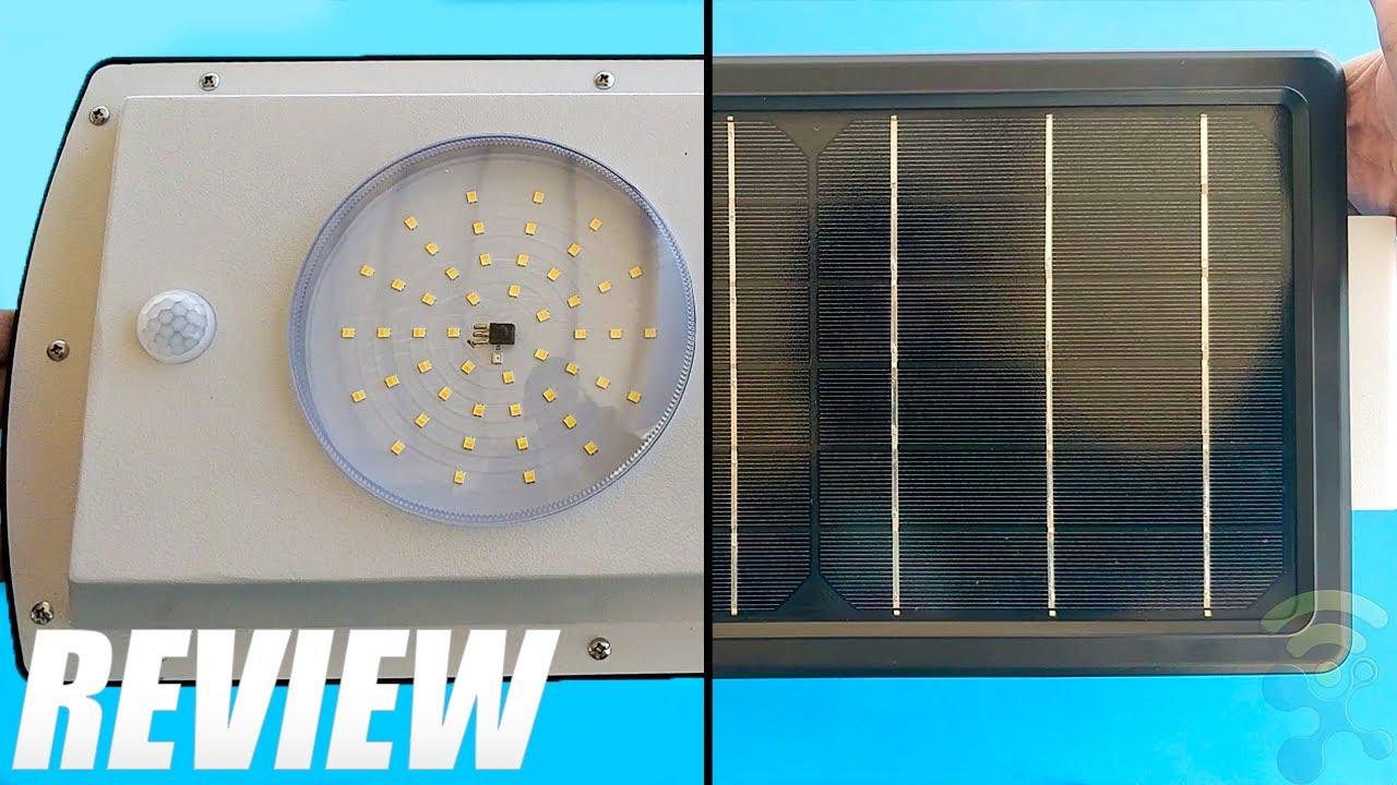 Uponun Solar Street Lights Outdoor Dusk to Dawn Review ✔️ Best Solar Street Lights