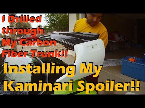 Installing My Kaminari Spoiler!!