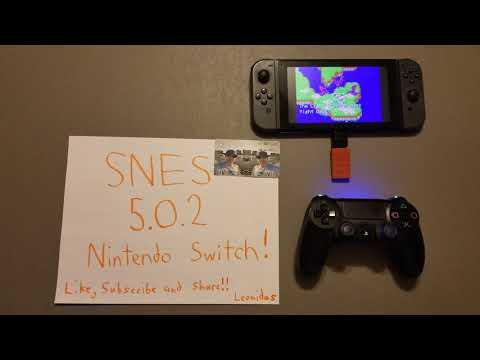 HOMEBREW Nintendo Switch SNES (Super Nintendo Entertainment System) Emulator/Virtual Console 5.0.2