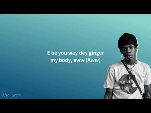 rema---corny-(lyrics)