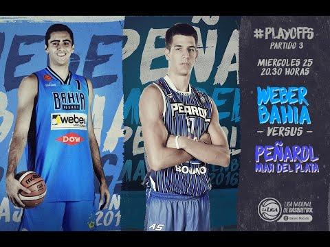 Liga Nacional de Básquet: Bahía Básquet vs. Peñarol | #LaLigaEnTyC
