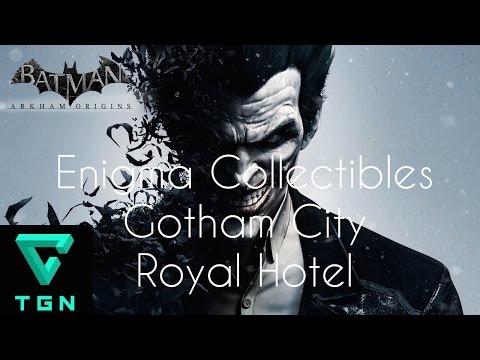 Batman Arkham Origins Enigma Collectibles Gotham City Royal Hotel