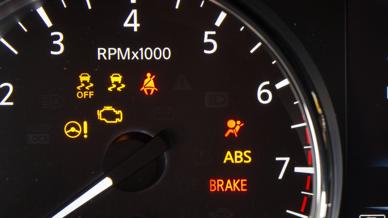 2018 Nissan Rogue Sport - Warning and Indicator Lights ...