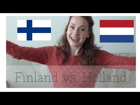 Finland Vlog #12 - Cultural differences between Finland and The Netherlands