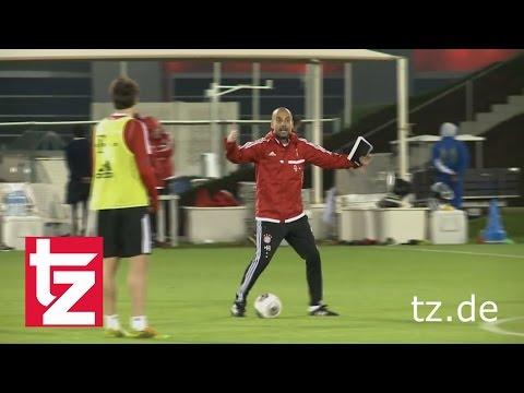 "FC Bayern in Doha I Rückblick 2014 - 2016 I Pep Guardiola: ""Das passiert jedes f***ing Spiel"""