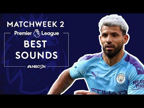Best sounds from Premier League 2019/20 Matchweek 2 | NBC Sports