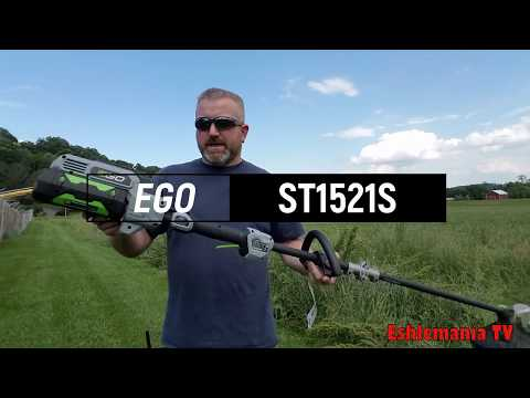 Testing An EGO ST1521S Power Feed Trimmer (56Volt Battery Powered)