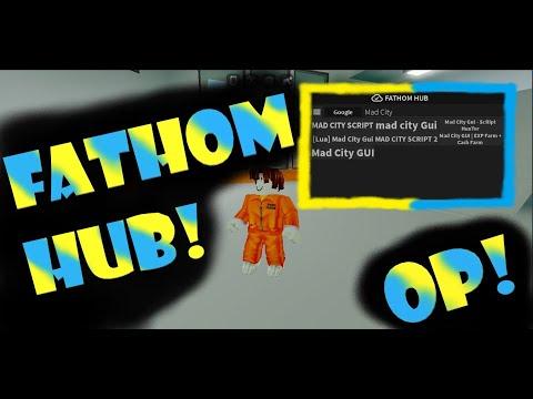 Roblox Fathom Hub Cool And Op Script By Bag Dude