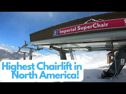 Imperial Express SuperChair In Breckenridge Colorado