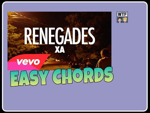 HOW TO PLAY: Renegades- X Ambassadors / EASY CHORDS!