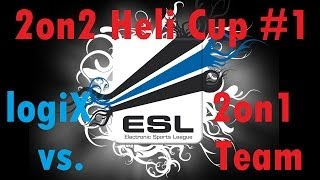 bf4 esl heli battle cup 1 round 2   2on1 team vs logix   turbopummel