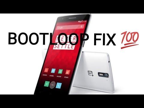 OnePlus one boot loop fix 100%