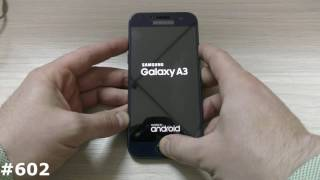 How to Open Recovery Mode in SAMSUNG Galaxy A3 (2017) - Exit Recovery |HardReset.Info.