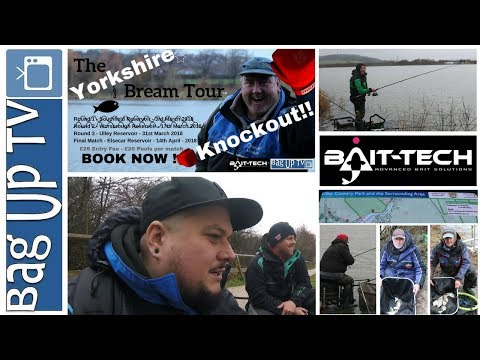 """Semi Final - The Yorkshire Bream """"Knockout"""" Tour 2018 - Ulley Reservoir - 31/03/2018"""