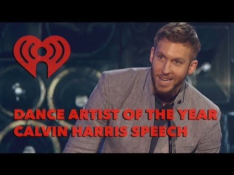 Calvin Harris Wins Dance Artist Of The Year | Exclusive