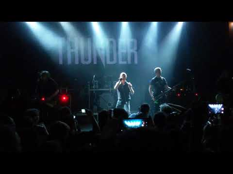 Thunder - live in Athens, 2018 05 19