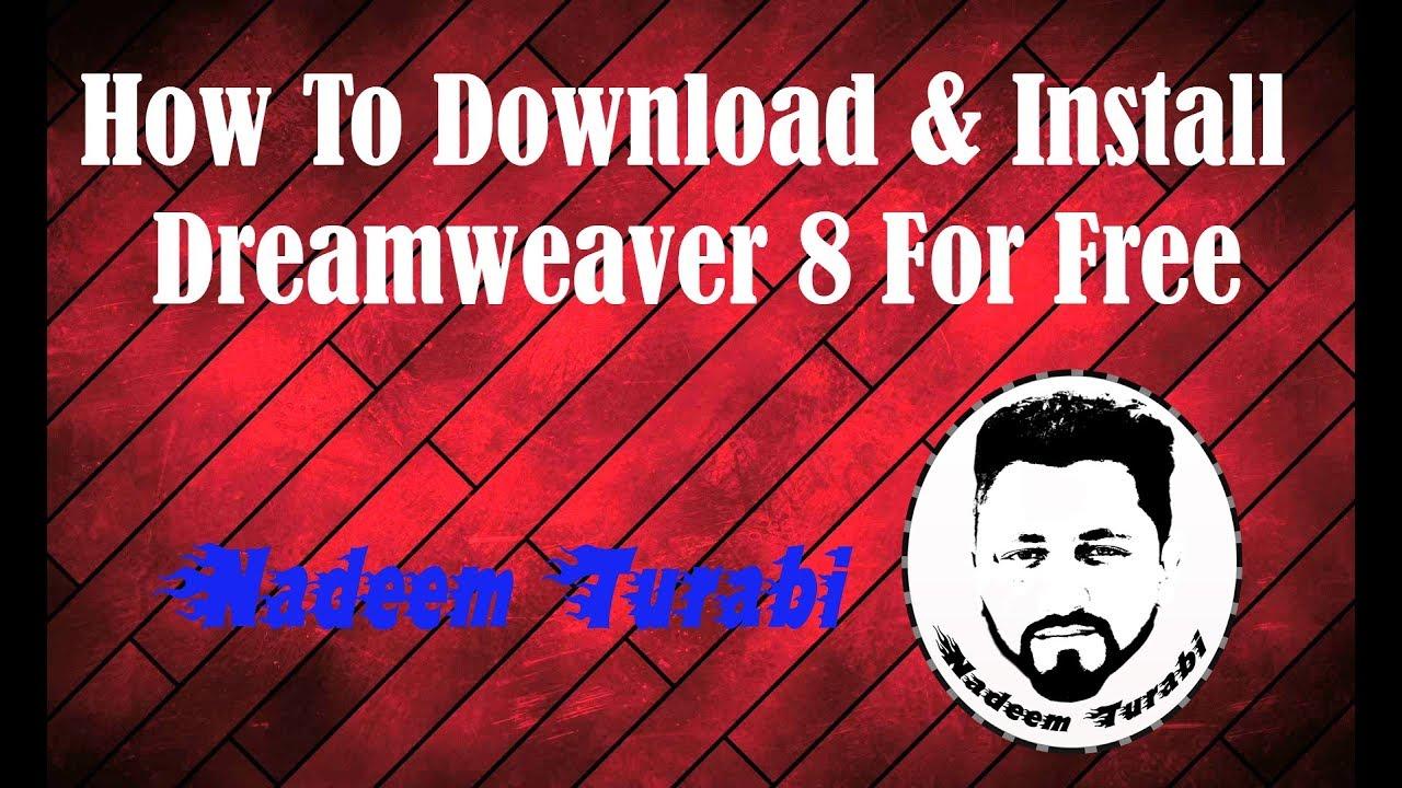 Macromedia Dreamweaver 8 Downloading 2018 Web Development Series Nadeem Turabi