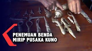 Heboh! Seorang Anak Kecil Temukan Puluhan Benda Mirip Pusaka Kuno
