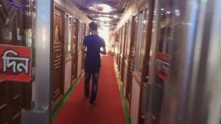 Vip cabin of Deshantor launch | Interior full review | Dhaka to Chandpur